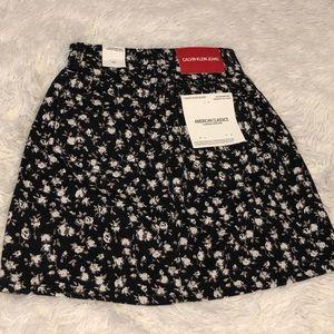 NWT Calvin Klein Jeans Mini Skirt
